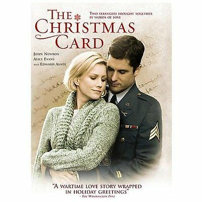 Hallmark Channel HOLIDAY DVD The Christmas Card Brand New SEALED HARD TO FIND