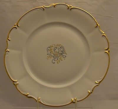 "Hutschenreuther "" The Beautiful"" Sylvia Dinner Plate 10 7/8"""