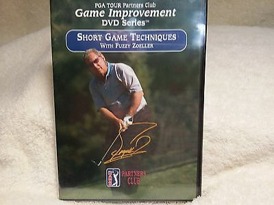 PGA Tour Partners Club - Short Game Techniques with Golf Fuzzy Zoeller DVD