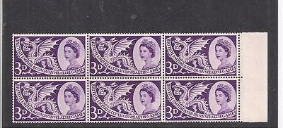 Great Britain:  Scott# 338, Block Of 6, Mnh, Og