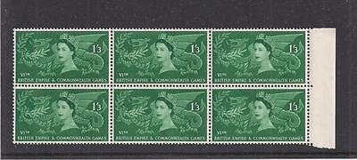 Great Britain:  Scott# 340, Block Of 6, Mnh, Og