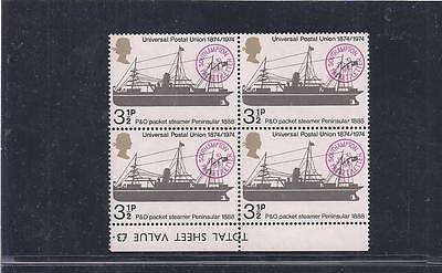 Great Britain:  Scott# 720, Block Of 4, Mnh, Og