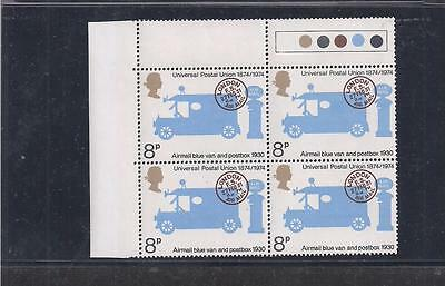 Great Britain:  Scott# 722, Block Of 4, Mnh, Og