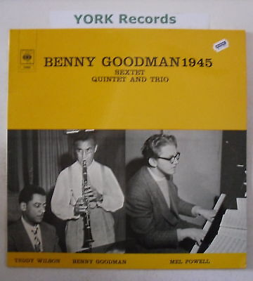 BENNY GOODMAN - 1945 - Excellent Condition LP Record