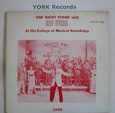 KAY KYSER - One Night Stand With ... - Ex Con LP Record