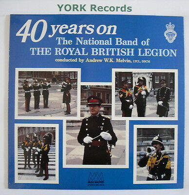 NATIONAL BAND OF THE ROYAL BRITISH LEGION - 40 Years On - Ex LP Record MM 0616