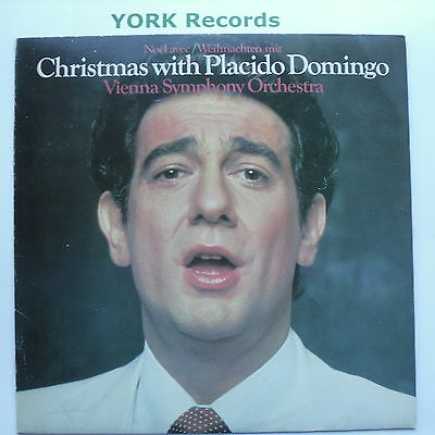 PLACIDO DOMINGO - Christmas With ... - Excellent Condition LP Record CBS 73635