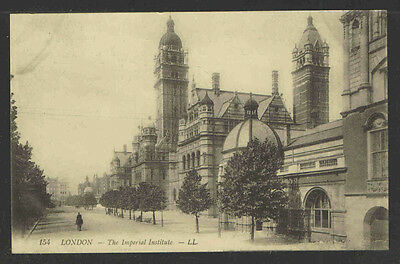 1910's #154 LONDON The Imperial Institute ENGLAND POSTCARD