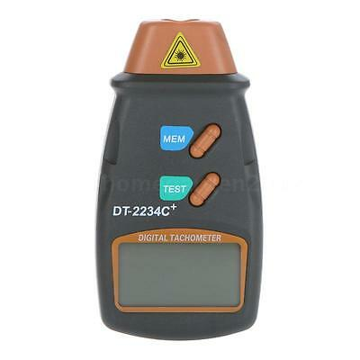 Digital Laser Photo Tachometer Non Contact RPM Tach Tester RPM Motors DT-2234C+