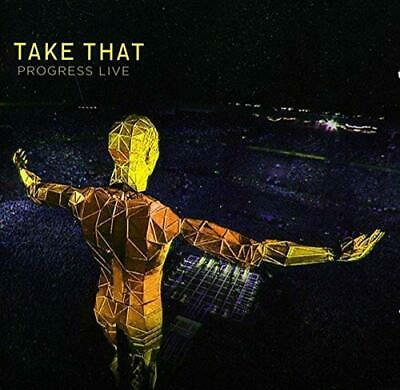 Take That - Progress Live - Take That CD W2VG The Cheap Fast Free Post The Cheap