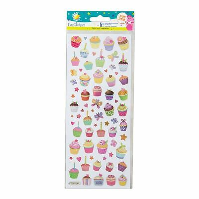 Stickers - Craft Planet Fun Stickers - Cupcakes CPT 805261