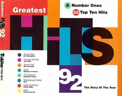 Various - Greatest Hits 1992 - Various CD 6ZVG The Cheap Fast Free Post The