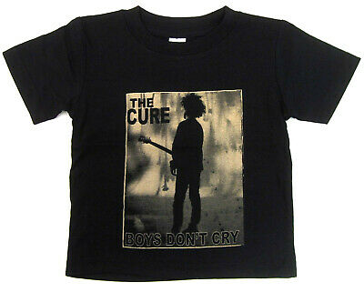 The CURE T-shirt Robert Smith BOYS DON'T CRY Tee Baby Infant 6M,12M,18M,24M New