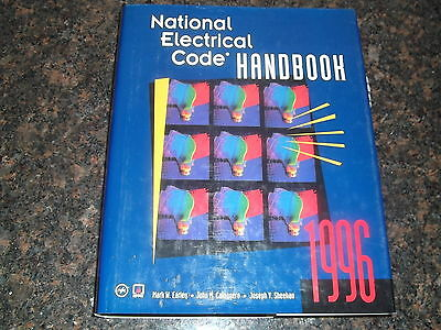 National Electrical Code Nec Handbook Manual 1996