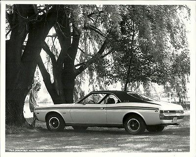 A.m.c. 1969 Javelin Sst Period Press Photograph.