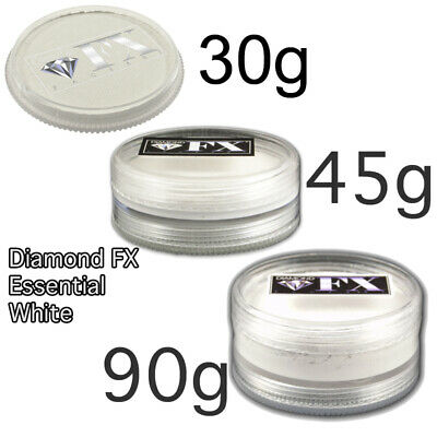 Diamond FX Essential Colour Face Paint ~ White