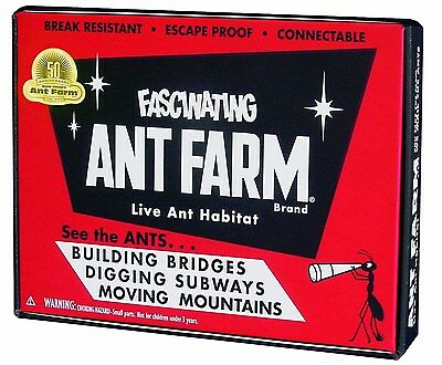 Uncle Milton Vintage Ant Farm by Uncle Milton OOO FREE SHIPPING NEW