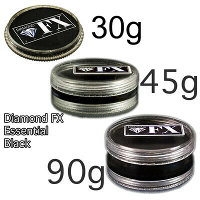 Diamond FX Essential Colour Face Paint ~ Black