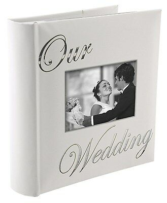 OUR WEDDING album by Malden holds 160 photos - 4x6 by Malden (7039-26) BRAND NEW