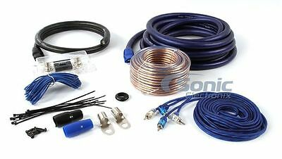 The InstallBay AK02 0 Gauge Complete Amplifier/Amp Installation Wiring Kit