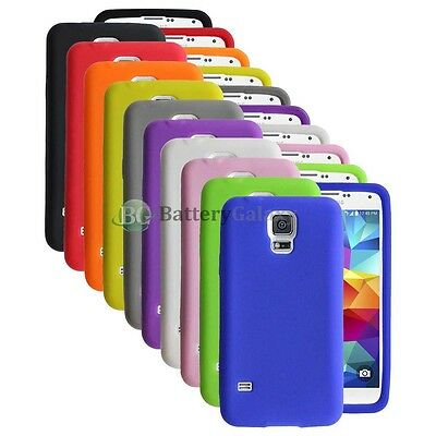 Lot of 10 Silicone Soft Slim Rubber Gel Case Cover for Samsung Galaxy S5 GS5