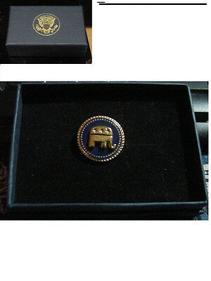 New  presidential Republican Lapel Pin Elephant