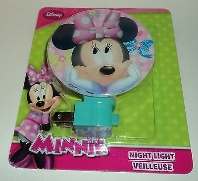 DISNEY MINNIE MOUSE Night Light NIP Co1