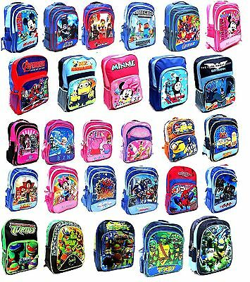 New Large Backpack Bag School Kids Frozen Elsa Minion Ninja Cars Paw Patrol Toys