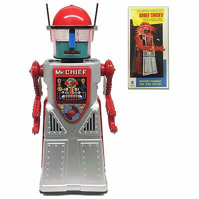 Chief  Smokey Robot Great Collectible Mystery Moving  Action Smokes Lights Up