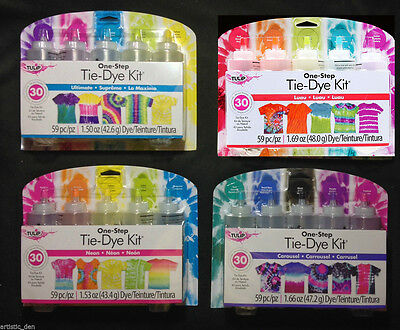 Tulip Tie dye kit Tye Dye Kit  Tulip Tie Dye 5 Kit Dyes Up To 30