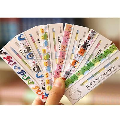 Cute Mini 150 Pages Post it Cartoon Sticker Bookmark Index Sticky Notes office