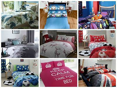 Boys Single Bedding Duvet Cover Cool Bright Teenager Bedding Funky Designs
