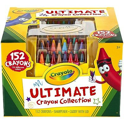 Crayola; Ultimate Crayon Collection; Art Tools; 152 Colors, Durable Storage Case