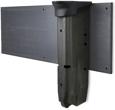 """Gun Storage Solutions Magazine Mount GSMGMT 3"""" x 10"""" of magnetic"""