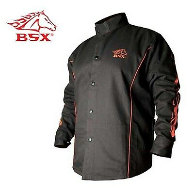 Revco Bsx Welding Jacket Dual inside and scribe pockets (Large) (As Shown) NEW