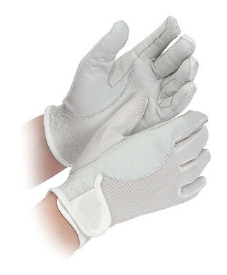 NEW Shires Leather Cool Competition Horse Riding Gloves - ADULTS & CHILDRENS