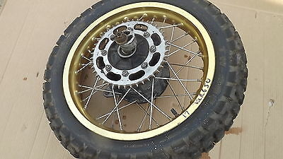 kawasaski klr650 klr 650 rear wheel tyre sprocket drum type early  ,,,,,wheels