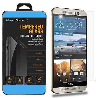 Premium Real Tempered Glass HD Clear Screen Protector for HTC One M9