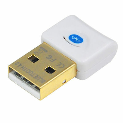 USB Wireless Bluetooth 4.0 CSR Dongle Adapter Audio Transmitter XP vista win7/8