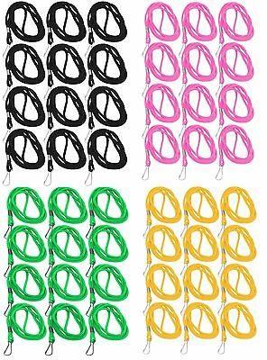 Mato & Hash High Quality Nylon Lanyard with J-Clasp for ID Cards, Passes , Bulk
