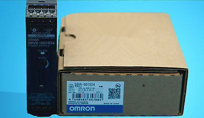 NEW IN BOX Omron PLC Switching Power Supply S8VK-G01524