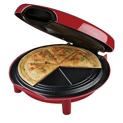 George Foreman GFQ001 Quesadilla Maker, Red by George Foreman SGG (BRAND NEW)
