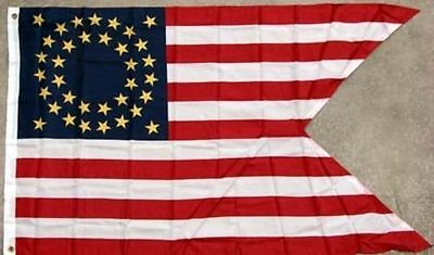 Old West 7th Cavalry Company Guidon Flag, George Custer