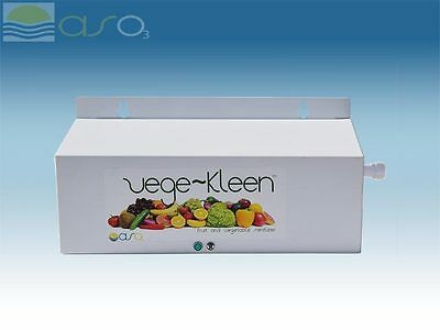 Vege Kleen Residental & Commercial Ozone Water & Food Purifier Filter w/faucet