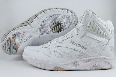 2b804f90f59c3 Reebok Royal Bb4500 High Hi Wide E White gray Classic Basketball Leather  Mens Sz