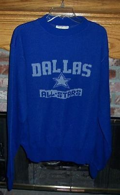Dallas Cowboys Game Used / Game Worn Basketball Warm Up Sweater
