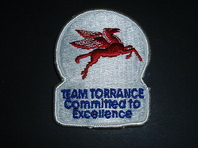 Mobil Gas Patch ~ Flying Pegasus ~ Team Torrance Commited to Excellence