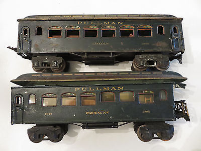 Marklin   Gauge  1 PRESIDENT Pullman Coaches with Interior
