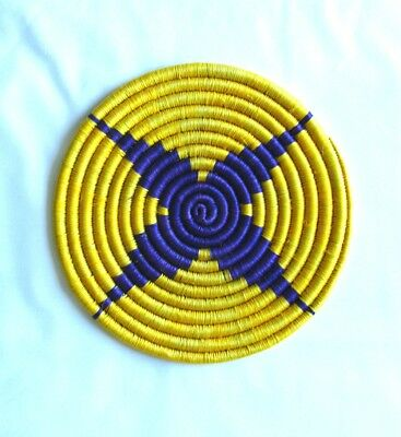 SALE - Coil placemat Colombia - Round