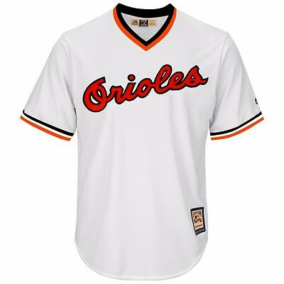 f156842c9 Baltimore Orioles 1982 Cooperstown Home (White) Cool Base Jersey Men s